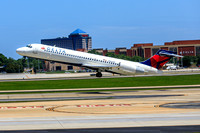 Delta MD-88  Departing from Hartsfield Jackson in Atlanta