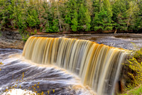 Tahquamenon Falls in Paradise, Michigan (UP)