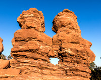 Siamese Twins at The Garden of The Gods