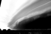 B/W Shelf Cloud