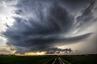 Supercell near Dix, IL 4-10-13