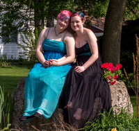 Theresa and Maddie Prom