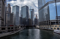 Chicago River from the Michigan Ave Bridge