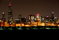 Chicago Skyline - 2015 Stanley Cup Champions