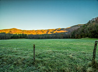 Brisk Fall Morning in Cades Cove - Smoky Mountain National Park